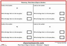 place value worksheets y6 5348 place value of digits in numbers ks2 reasoning test practice classroom secrets