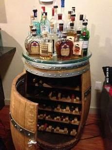 my grandpa got this awesome bookcase hidden mini bar