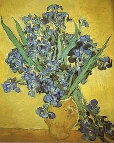 i fiori di gogh sauvage27 vaso con iris still vase with irises