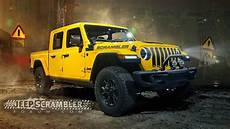 2020 jeep scrambler 2020 jeep scrambler render looks ready for the real world