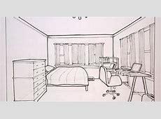 Bedroom Drawing Pencil at GetDrawings   Free download