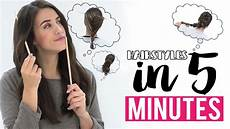 Easy Hairstyles In 5 Minutes
