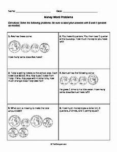 word problems with coins worksheets 10989 coins words and graphics on