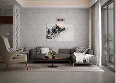 a stunning apartment with colorful geometric 33 stunning accent wall ideas for living room