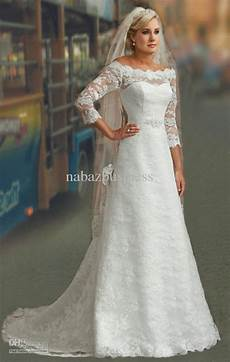 modest wedding gowns with 3 4 sleeves discount wedding dresses modest 3 4 sleeves white