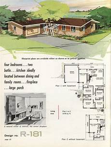 vintage ranch house plans town country ranch homes 1962 ranch house vintage