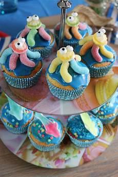 geburtstagskuchen kinder muffins kraken 1 geburtstag