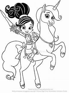 Ausmalbilder Prinzessin Nella Nella Die Ritter Prinzessin Ausmalbilder