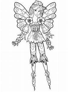 elfen malvorlagen characters ein h 252 bsches ausmalbild einer elfe mit einem schmetterling