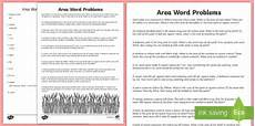 area word problems worksheets with answers 11173 word problems using area worksheet activity sheet math