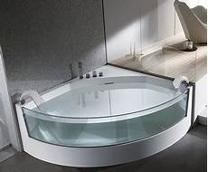 vasche glass clear sided bathtub from teuco gorgeous view whirlpool