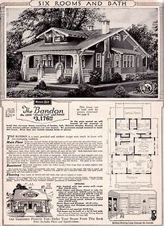 sears bungalow house plans 1923 sears bandon love love love vintage house plans