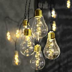 Led Lichterkette Gl 252 Hbirne Aus Glas Retro Design 10