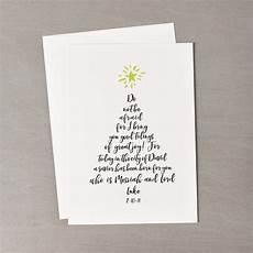 tree calligraphy greeting cards set of 20