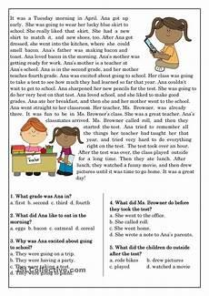 reading comprehension for beginner and elementary students 10 для уроков educacion ingles