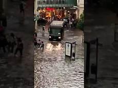 Aachen Starkes Hochwasser Mit Heftigem Hagel Ups