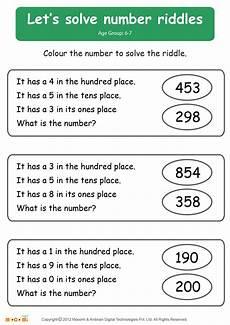 solve riddle worksheet math for kids mocomi