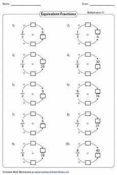 equivalent fraction worksheets for grade 6 4266 equivalent fraction worksheets