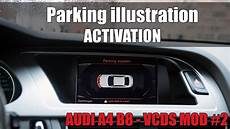 audi a4 b8 vcds mod 2 parking illustration