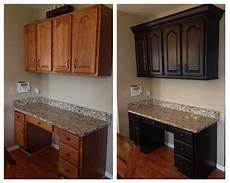 dark chocolate milk painted kitchen cabinets general finishes design center