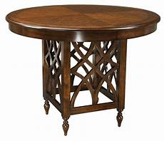 standard height counter height and bar height tables woodmont brown cherry counter height table from