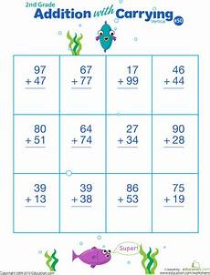 vertical subtraction worksheets for grade 1 10307 digits practice vertical addition with regrouping 50 with images math worksheets