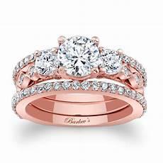 shop barkev s designer 14k rose gold 2 1 2ct tdw diamond 3 piece bridal ring free shipping