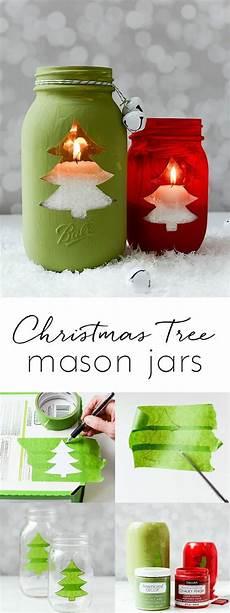 basteln mit einmachgläsern einfache bastelideen f 252 r weihnachten die freude bringen