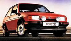 Ford Mk2 Xr2i Hatch