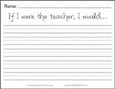 handwriting worksheets for 2nd grade 21376 if i were the i would free printable k 2 writing prompt student handouts