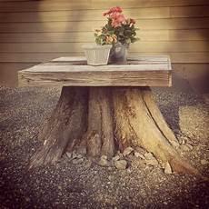 tisch aus baumstamm wurzelholz tree stump table tree stump table garden tree stump