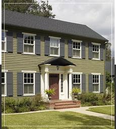georgian and federal style exteriors behr