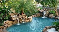 Pool Mit Wasserfall - 15 pool waterfalls ideas for your outdoor space home