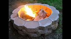 feuerstelle im garten selber bauen diy feuerstelle im
