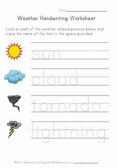 weather activity worksheets for kindergarten 14490 weather worksheets for from all network weather unit study handwriting