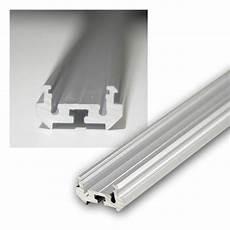 1m aluminium rund eckprofil eloxiert f led stripes