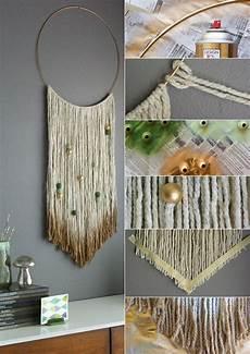 wandgestaltung ideen selber wandbehang deko selber machen als coole idee f 252 r