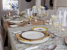 Table Setting by 7 Tips For Storing Your Table Linens Hgtv