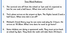 time word problems ks1 worksheets 3434 time word problems classroom secrets