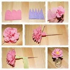 fleur papier crepon faire une fleur en papier cr 233 pon photo de th 232 mes d