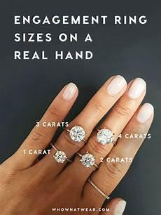 4 carat diamond ring on finger images 10 year wedding