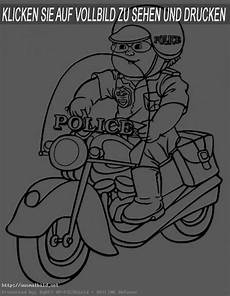 Malvorlagen Polizei Motorrad Polizei 7 Ausmalbild
