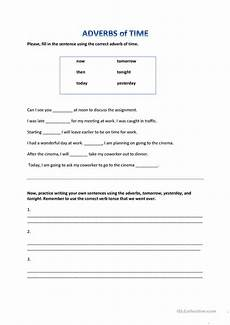 adverb of time worksheets grade 3 3462 adverbs of time worksheet free esl printable worksheets made by teachers