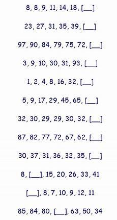 missing number worksheet juli 2013