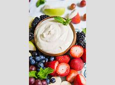 coconut dip for fruit_image