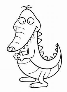 Malvorlage Krokodil Einfach Malvorlage Krokodil Einfache Zeichnung Coloring And