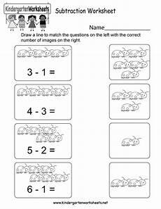 subtraction worksheets for kindergarten grade 10482 subtraction worksheet free kindergarten math worksheet for