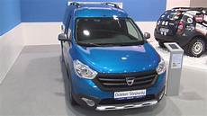 dacia dokker stepway 2017 dacia dokker stepway dci 90 2016 exterior and interior in 3d
