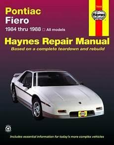 manual repair free 1985 pontiac fiero parking system 322 best images about pontiac fieros on