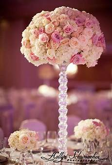gorgeous white and pink rose centerpieces pink weddings